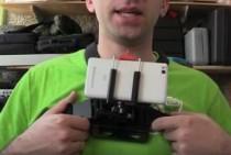 Как крепить камеру для видеообзоров